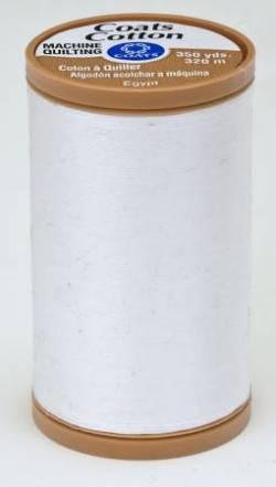Coats Maschinenquiltgarn 100% Baumwolle 30/2-fach 320 m weiss
