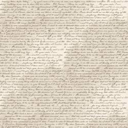 Jane Austen At Home Correspondence Schrift auf creme