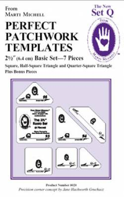 Perfect Patchwork Templates The New Set Q 2.5 inch Basic Set