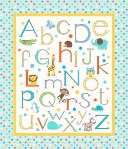 Springs Alphabet Zoo Panel