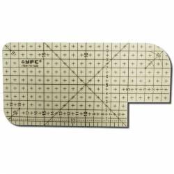 BabySnap Hot Ruler hitzebeständiges Bügellineal 20 x 10 cm