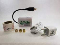 Vivilux Laser, wiederaufladbar, *grünes* Licht mit Magnetstreifenbefestigung