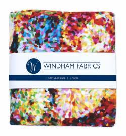 Windham Impressionist Floral Digitally Printed Rückseitenstoff überbreit - ca. 2,74 x 2,74 m