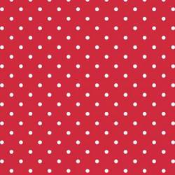 Riley Blake Swiss Dot on Red