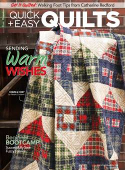 Fons & Porters Quick + Easy Quilts December/January 2021
