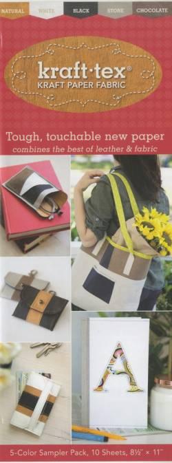 Kraft-Tex Designer 5-color Sampler Pack