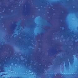 Benartex Fossil Fern Royal blau RÜCKSEITENSTOFF ÜBERBREIT