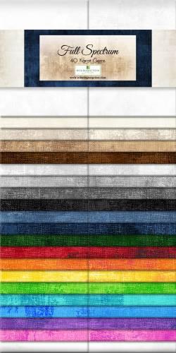 Wilmington Essential Gems Full Spectrum Jelly Roll 2x20 Streifen