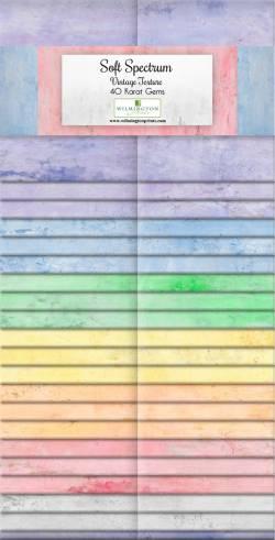 Wilmington Essential Gems Soft Spectrum Jelly Roll 2x20 Streifen