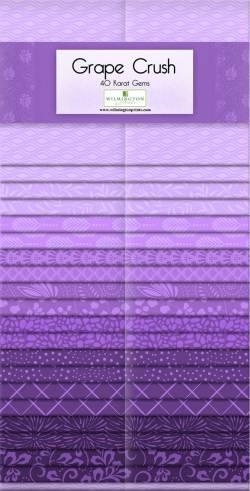 Wilmington Essential Gems Grape Crush Jelly Roll 2x20 Streifen