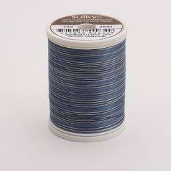 Sulky Cotton 30, 450 m Fb. 4034 Soft Blacks Multicolour