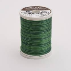 Sulky Cotton 30, 450 m Fb. 4051 Forever Green Multicolour