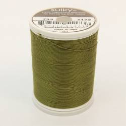 Sulky Cotton 30, 450 m Fb. 1173 Med. Army Green