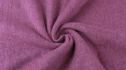 Fleece 100% Baumwolle, 150 cm breit, lila traube