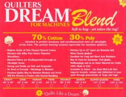 Dream Blend 70/30 Select natur Twin Size 72x93 inch