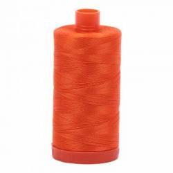 Aurifil Mako Cotton Maschinenquiltgarn 50/2-fach, 1300 m, Fb. 1104 Neon Orange