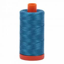 Aurifil Mako Cotton Maschinenquiltgarn 50/2-fach, 1300 m, Fb. 1125 Medium Teal