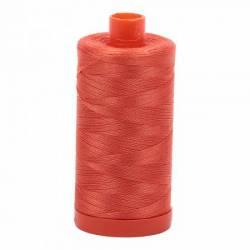 Aurifil Mako Cotton Maschinenquiltgarn 50/2-fach, 1300 m, Fb. 1154 Dusty Orange