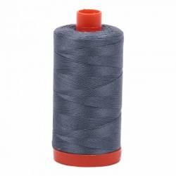Aurifil Mako Cotton Maschinenquiltgarn 50/2-fach, 1300 m, Fb. 1246 Dark Grey