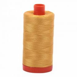 Aurifil Mako Cotton Maschinenquiltgarn 50/2-fach, 1300 m, Fb. 2132 Tarnished Gold