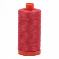 Aurifil Mako Cotton Maschinenquiltgarn 50/2-fach, 1300 m, Fb. 2255 Dark Red Orange