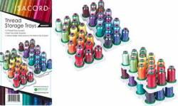 Isacord Thread Storage Trays Garnrollenhalter für Artbin Semi Satchel Box