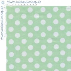 Windham Basic Brights Lime Dots Punkte weiss auf hellgrün