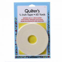 Quilters Tape 1/4 inch breit 60 yds