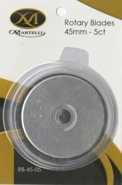 Ersatzklinge für Rollschneider ERGO 2000, 45mm 5 Klingen