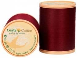 Coats Cotton Baumwollnähgarn 50/3-fach, 1000 m, Fb. 9513 weinrot