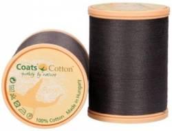 Coats Cotton Baumwollnähgarn 50/3-fach, 1000 m, Fb. 7010 anthrazit
