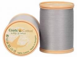 Coats Cotton Baumwollnähgarn 50/3-fach, 1000 m, Fb. 3021 silbergrau