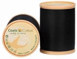 Coats Cotton Baumwollnähgarn 50/3-fach, 1000 m, Fb. 9750 schwarz