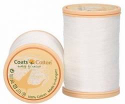 Coats Cotton Baumwollnähgarn 50/3-fach, 450 m, Fb. 1716 weiss