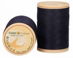 Coats Cotton Baumwollnähgarn 50/3-fach, 450 m, Fb. 9241 schwarzblau