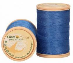Coats Cotton Baumwollnähgarn 50/3-fach, 450 m, Fb. 6637 mittelblau