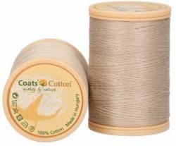 Coats Cotton Baumwollnähgarn 50/3-fach, 450 m, Fb. 3314 leinen hell