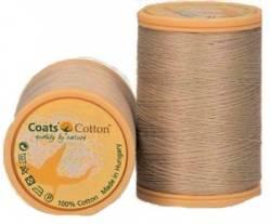 Coats Cotton Baumwollnähgarn 50/3-fach, 450 m, Fb. 3315 leinen dunkel