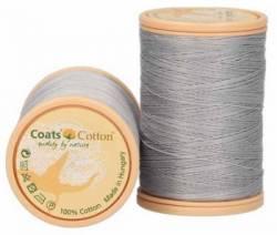 Coats Cotton Baumwollnähgarn 50/3-fach, 450 m, Fb. 3021 hellgrau