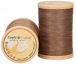 Coats Cotton Baumwollnähgarn 50/3-fach, 450 m, Fb. 6412 hellbraun