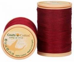 Coats Cotton Baumwollnähgarn 50/3-fach, 450 m, Fb. 8716 dunkelrot