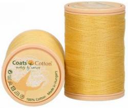 Coats Cotton Baumwollnähgarn 50/3-fach, 450 m, Fb. 2817 cremegelb