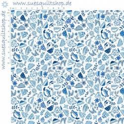 Lewis & Irene Teatime Collection blau
