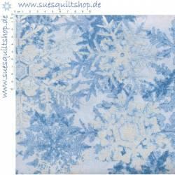 Benartex Pearl Frost hellblau