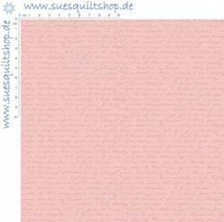 Riley Blake Love Letter Pink Schrift rosa