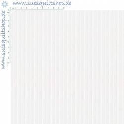 Benartex Better Basics Deluxe Streifen weiss auf weiss