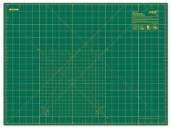 Omnigrid Schneidematte 45 x 60 cm (und 18x24 inch) grün mit gelbem Raster