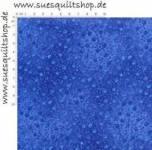 Robert Kaufman Fusions Royal Small Floral Vine, Ranken königsblau