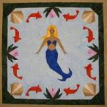 PDF Anleitung Meerjungfrau (Mermaid) ca. 55,8 x 55,8 cm - VERSANDKOSTENFREI