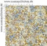 Benartex Tranquility Blätter klein blau grau taupe